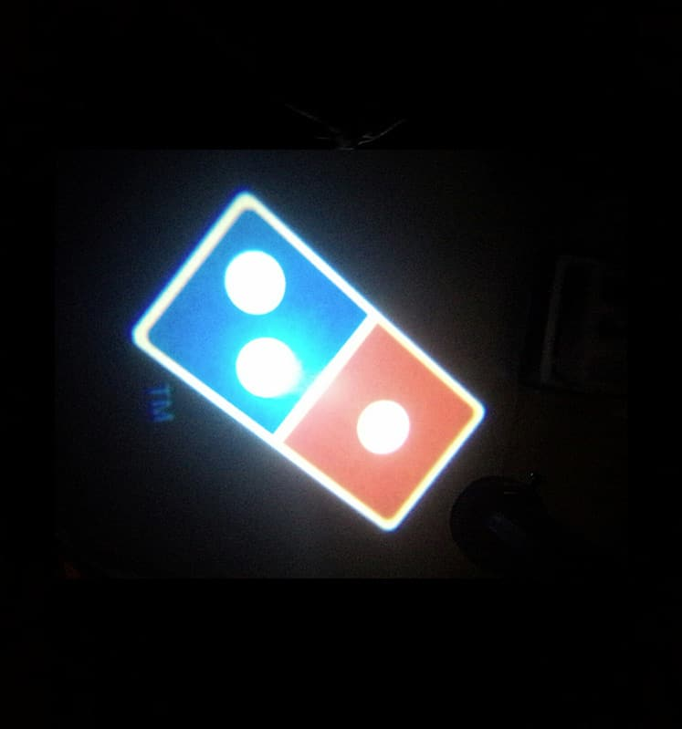 Custom Led Door Projector Courtesy Puddle Logo Lights on led laser projector lights