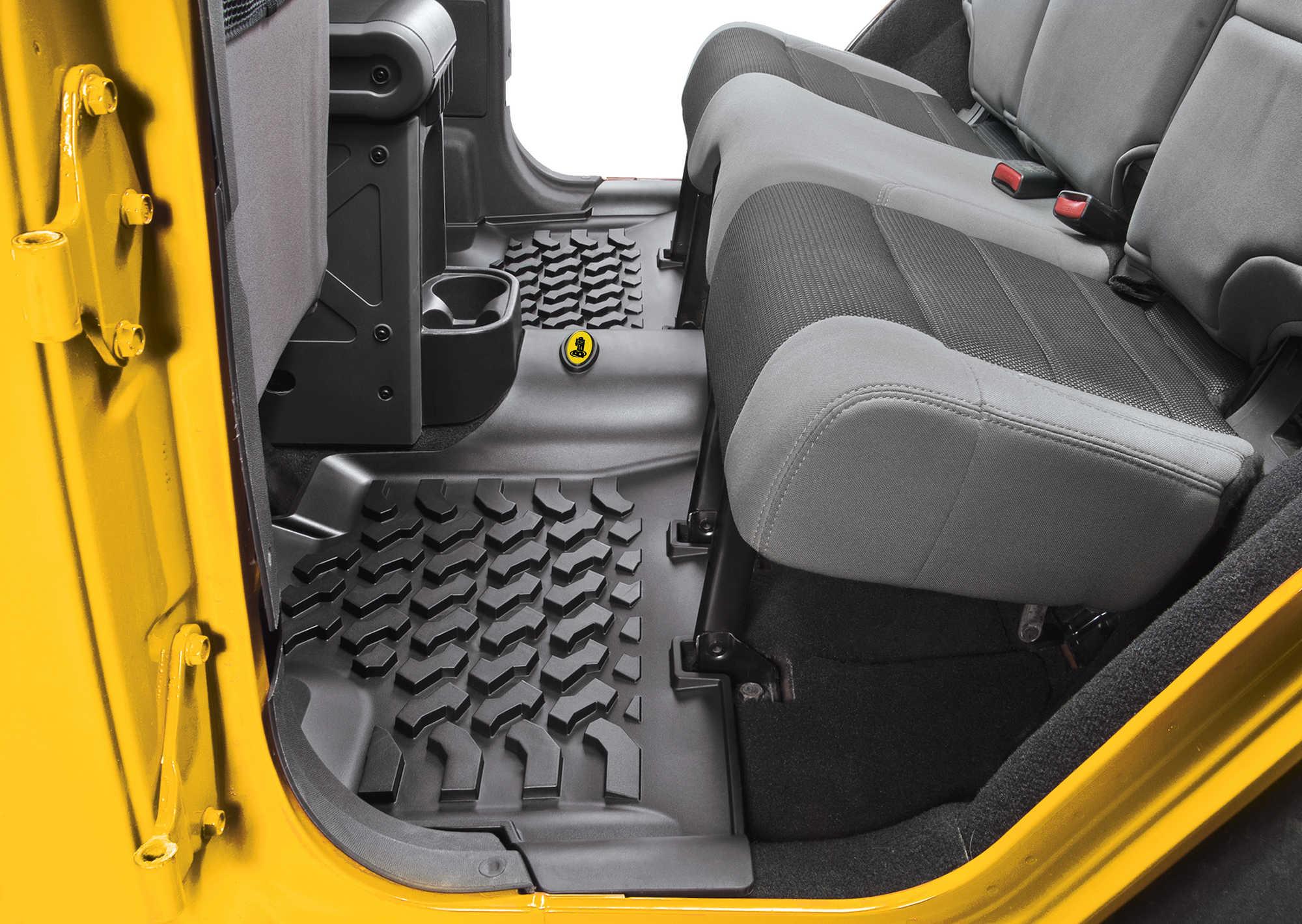Bestop 174 Front Amp Rear Floor Liners For 07 16 Jeep 174 Wrangler