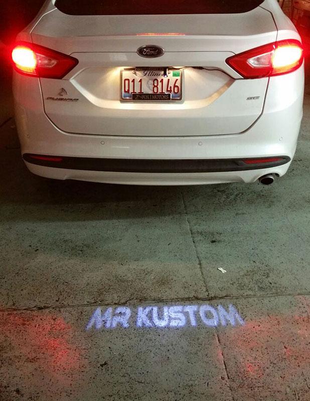 No Fade Glass Custom Led Brake Light Projector Mr