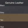Standard Genuine Leather Colors