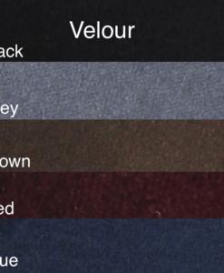 Standard Velour Colors