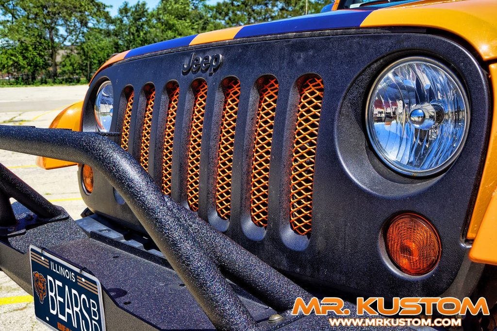 Chicago Bears Special Edition Jeep - Mr. Kustom Auto Accessories and ...