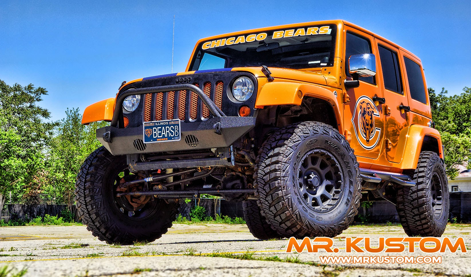 chicago bears special edition jeep