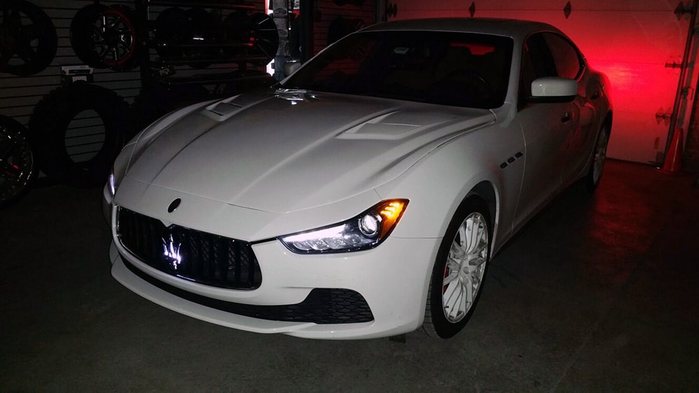 Jeep Led Headlights >> 2015 Maserati Ghibli - Mr. Kustom Auto Accessories and Customizing