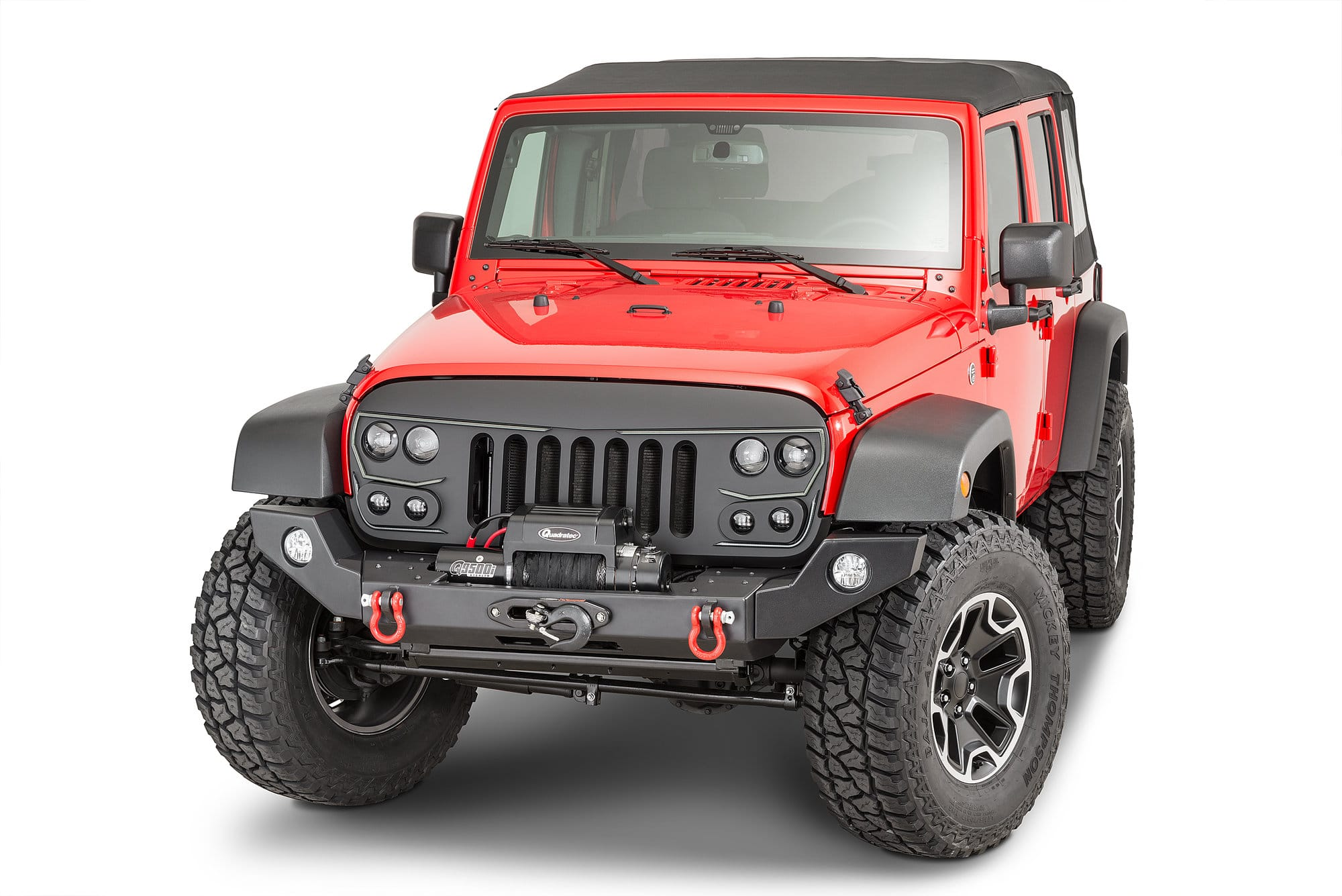 Oracle Lighting Vector Grill For 07 18 Jeep Wrangler Jk