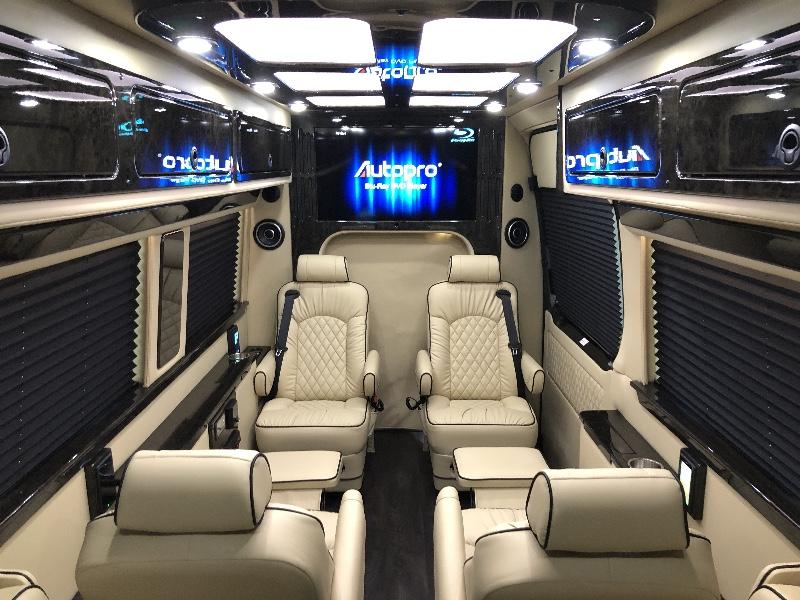 White 2020 Mercedes Benz Sprinter Vans Mr Kustom Auto